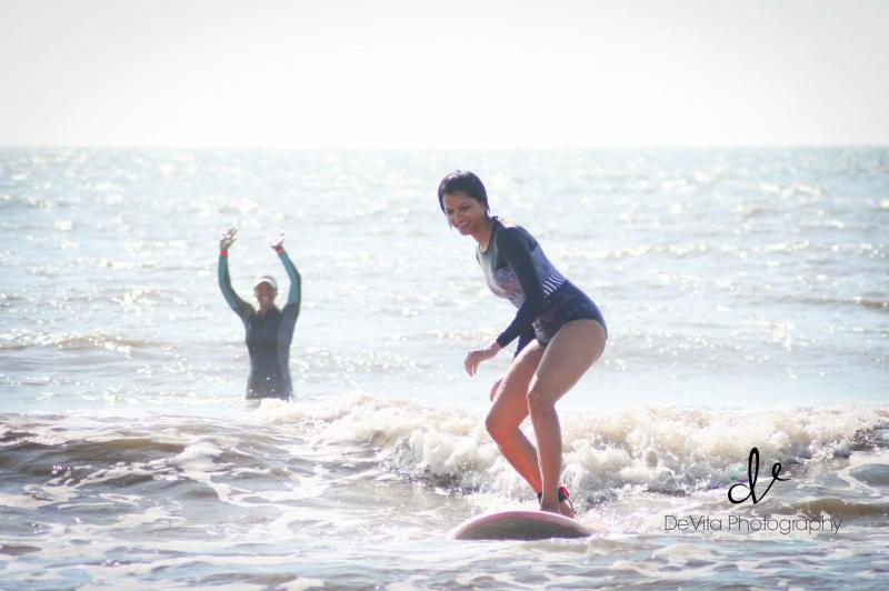 Sommers Surf Lessons - Surf Lessons for Women